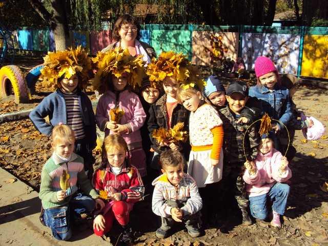 Осенние праздники для подготовительной группы