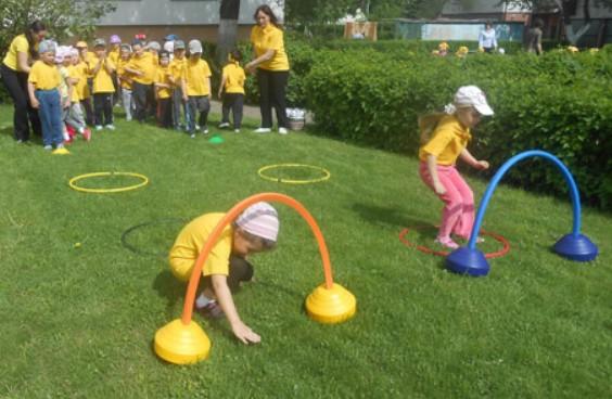 спортивный досуг в детском саду