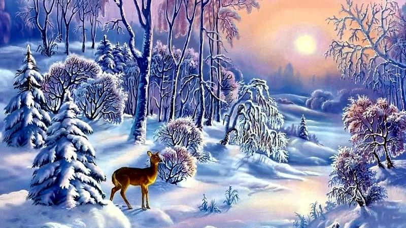 Дидактические картинки явления природы зимой