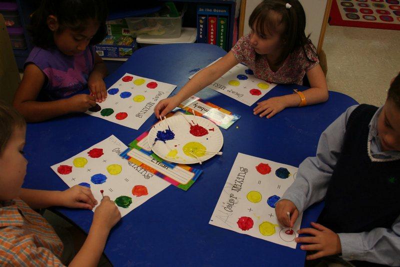 Конспект новогодней математики в детском саду